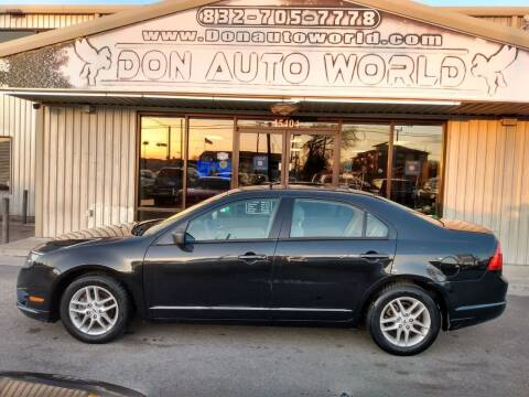2012 Ford Fusion for sale at Don Auto World in Houston TX