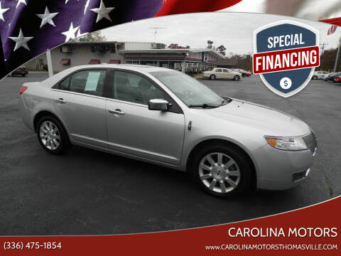 2012 Lincoln MKZ for sale at CAROLINA MOTORS in Thomasville NC