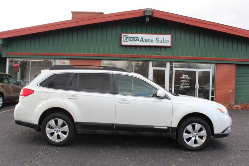 2012 Subaru Outback for sale at Gentry Auto Sales in Portage MI