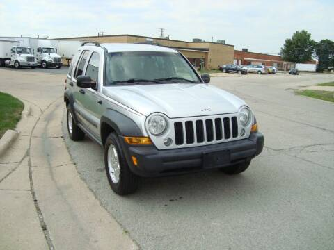 2007 Jeep Liberty for sale at ARIANA MOTORS INC in Addison IL