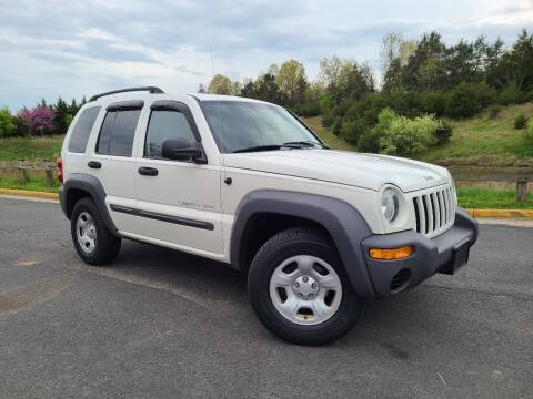 2003 Jeep Liberty for sale at Lexton Cars in Sterling VA