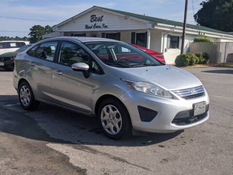 2012 Ford Fiesta for sale at Best Used Cars Inc in Mount Olive NC