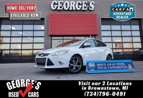 2013 Ford Focus for sale at George's Used Cars - Pennsylvania & Allen in Brownstown MI