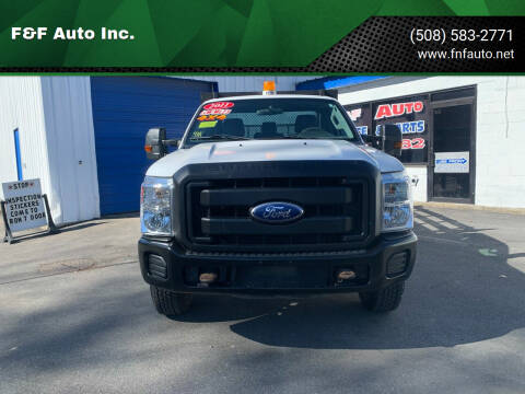 2011 Ford F-350 Super Duty for sale at F&F Auto Inc. in West Bridgewater MA