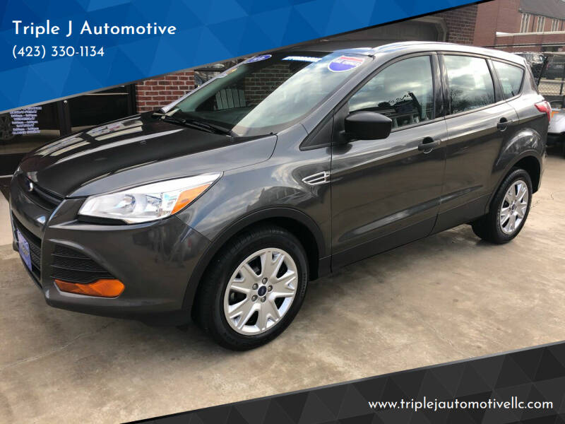 2016 Ford Escape for sale at Triple J Automotive in Erwin TN