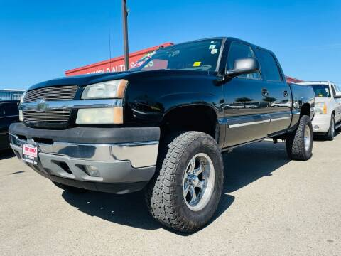 2005 Chevrolet Silverado 1500 for sale at Credit World Auto Sales in Fresno CA