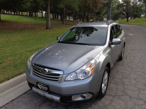 2011 Subaru Outback for sale at N c Auto Sales in Los Angeles CA