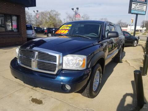 2006 Dodge Dakota for sale at Madison Motor Sales in Madison Heights MI