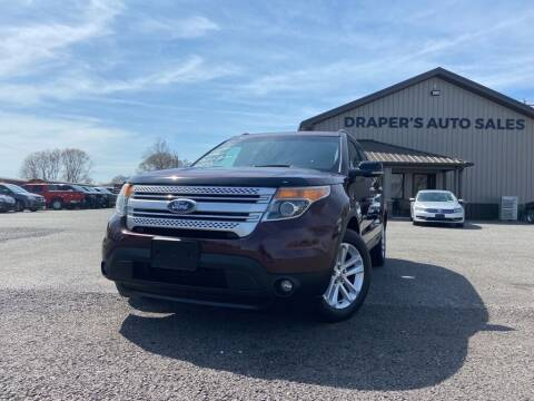 2011 Ford Explorer for sale at Drapers Auto Sales in Peru IN