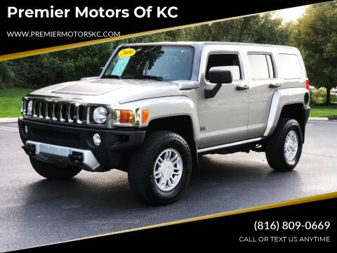 2009 HUMMER H3 for sale at Premier Motors of KC in Kansas City MO