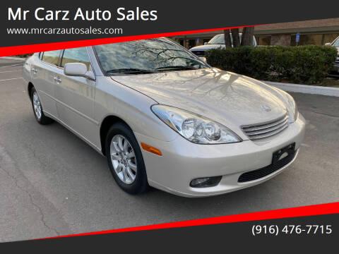 2002 Lexus ES 300 for sale at Mr Carz Auto Sales in Sacramento CA