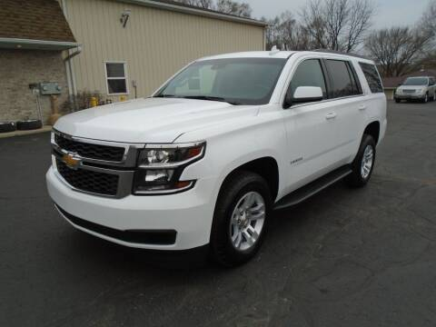 2018 Chevrolet Tahoe for sale at Ritchie Auto Sales in Middlebury IN