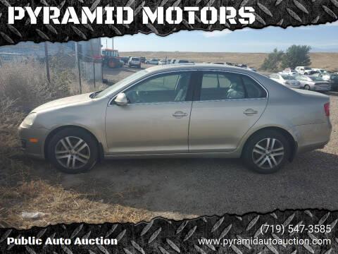2005 Volkswagen Jetta for sale at PYRAMID MOTORS - Pueblo Lot in Pueblo CO