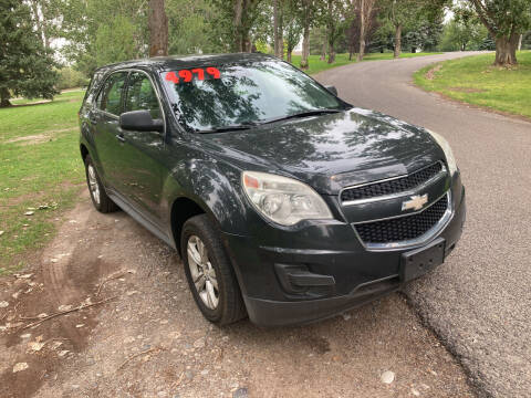 2012 Chevrolet Equinox for sale at BELOW BOOK AUTO SALES in Idaho Falls ID