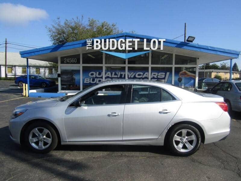 2015 Chevrolet Malibu for sale at THE BUDGET LOT in Detroit MI