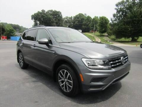 2019 Volkswagen Tiguan for sale at Specialty Car Company in North Wilkesboro NC