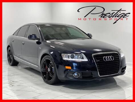 2011 Audi A6 for sale at Prestige Motorsport in Rancho Cordova CA