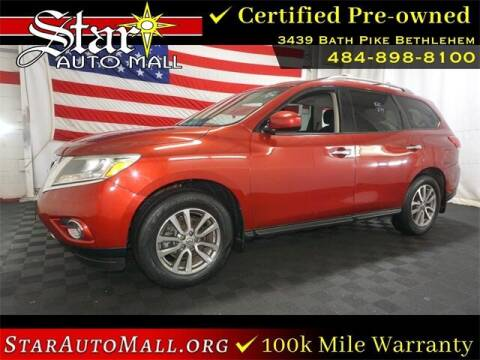 2015 Nissan Pathfinder for sale at STAR AUTO MALL 512 in Bethlehem PA