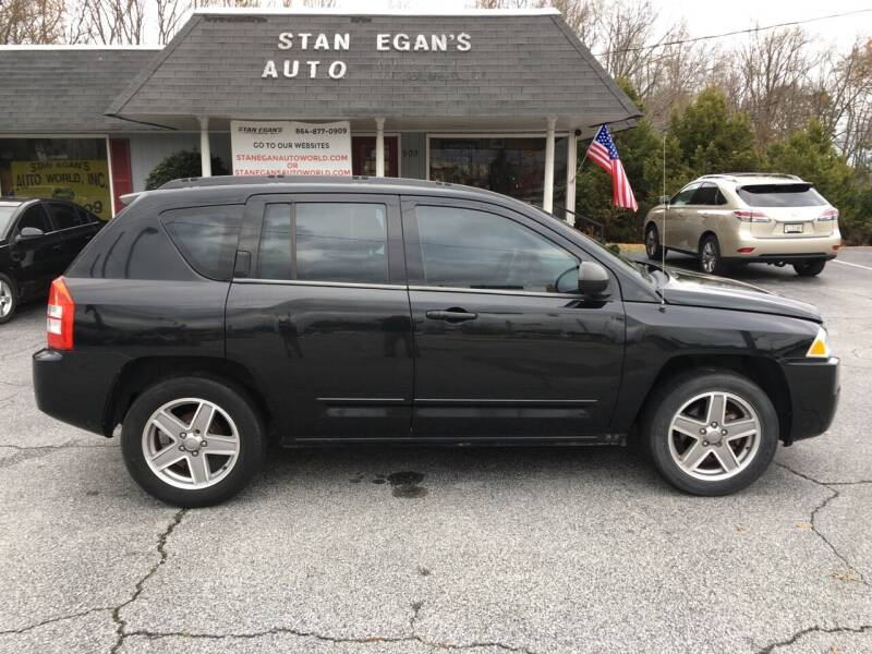 2010 Jeep Compass for sale at STAN EGAN'S AUTO WORLD, INC. in Greer SC