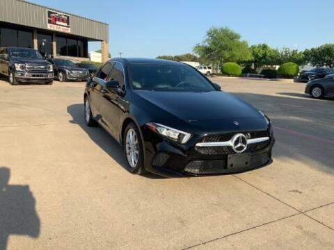 2020 Mercedes-Benz A-Class for sale at KIAN MOTORS INC in Plano TX
