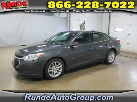 2014 Chevrolet Malibu for sale at Runde Chevrolet in East Dubuque IL