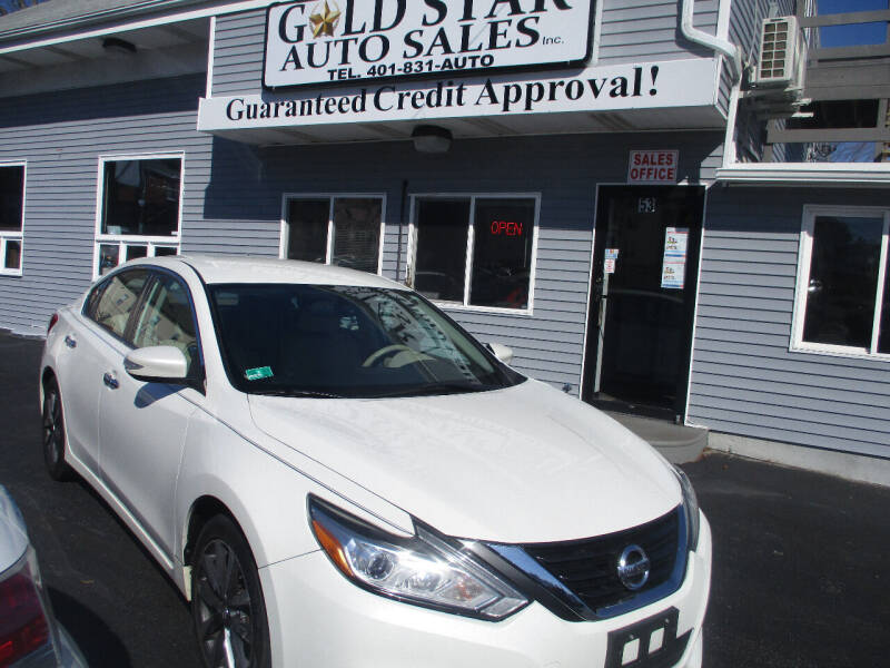 2017 Nissan Altima for sale at Gold Star Auto Sales in Johnston RI