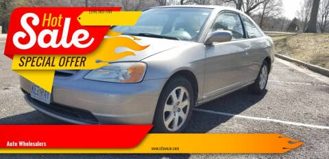 2003 Honda Civic for sale at Auto Wholesalers in Saint Louis MO