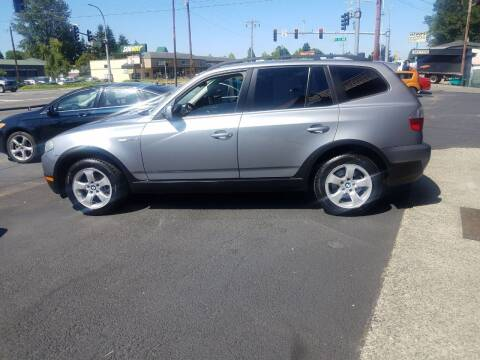 2008 BMW X3 for sale at Bonney Lake Used Cars in Puyallup WA