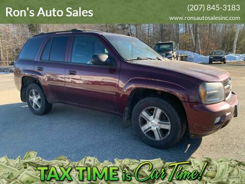 2007 Chevrolet TrailBlazer for sale at Ron's Auto Sales in Washington ME
