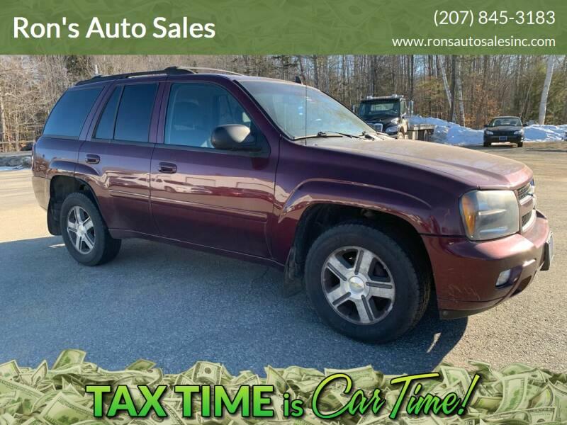 2007 Chevrolet TrailBlazer for sale at Ron's Auto Sales in Washington ME