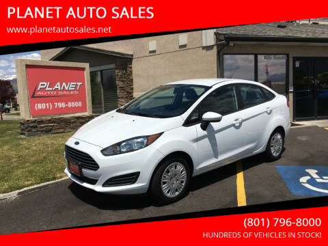 2014 Ford Fiesta for sale at PLANET AUTO SALES in Lindon UT