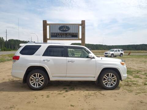 2010 Toyota 4Runner for sale at Elk Creek Motors LLC in Park Rapids MN