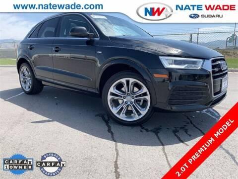 2018 Audi Q3 for sale at NATE WADE SUBARU in Salt Lake City UT