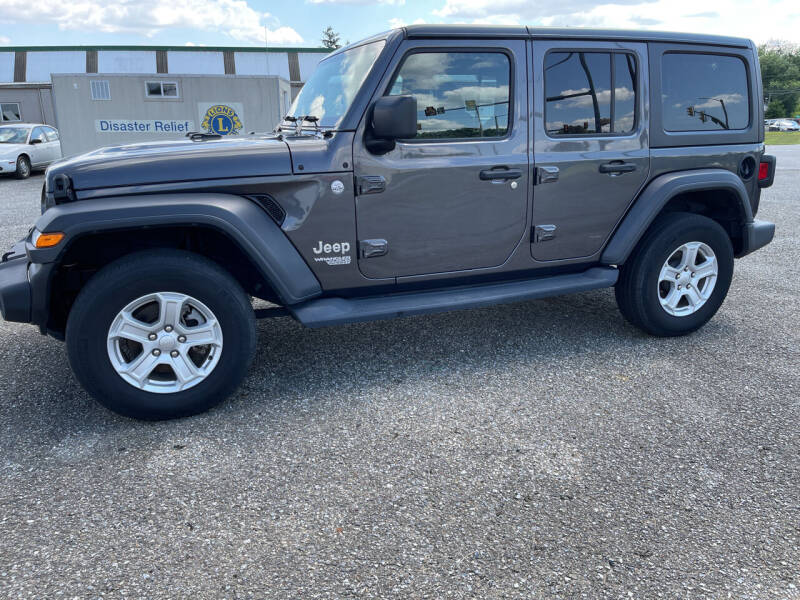 2019 Jeep Wrangler Unlimited for sale at Apple Auto Repair Inc / Christiana Auto Sales in Christiana PA