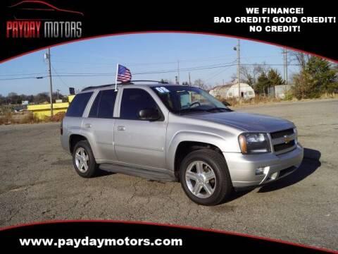 2008 Chevrolet TrailBlazer for sale at Payday Motors in Wichita And Topeka KS