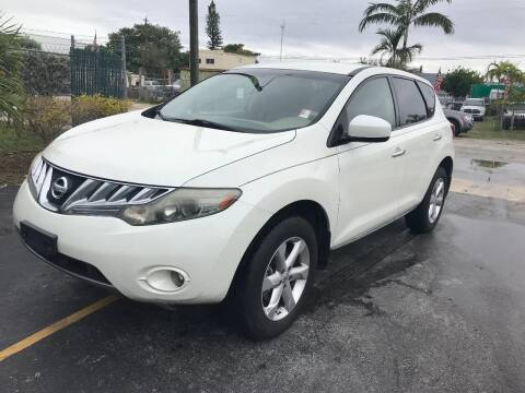 2009 Nissan Murano for sale at Best Auto Deal N Drive in Hollywood FL