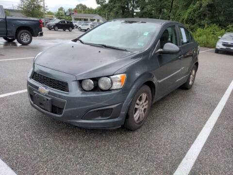 2013 Chevrolet Sonic for sale at Strosnider Chevrolet in Hopewell VA