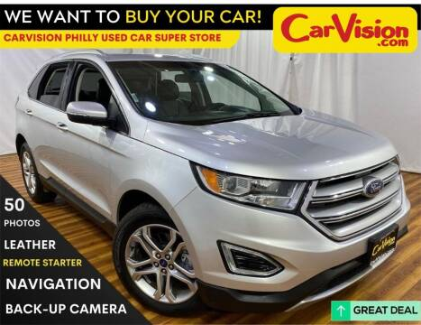 2016 Ford Edge for sale at Car Vision Mitsubishi Norristown - Car Vision Philly Used Car SuperStore in Philadelphia PA