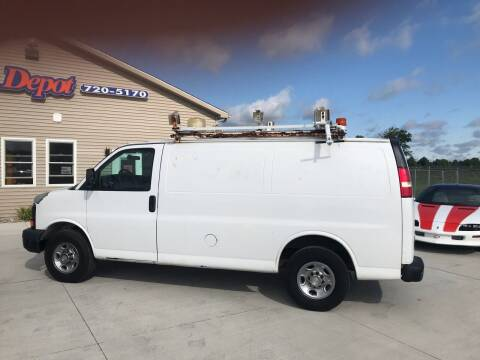 2009 Chevrolet Express Cargo for sale at The Auto Depot in Mount Morris MI