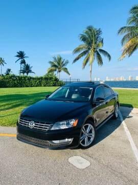 2012 Volkswagen Passat for sale at AUTOSPORT MOTORS in Lake Park FL