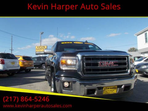 2015 GMC Sierra 1500 for sale at Kevin Harper Auto Sales in Mount Zion IL