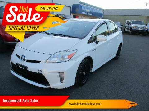 2013 Toyota Prius for sale at Independent Auto Sales in Spokane Valley WA