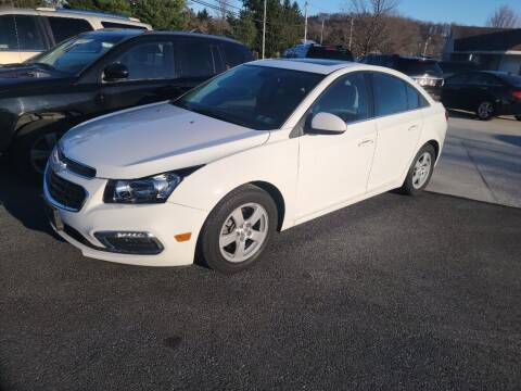 2016 Chevrolet Cruze Limited for sale at Fortnas Used Cars in Jonestown PA