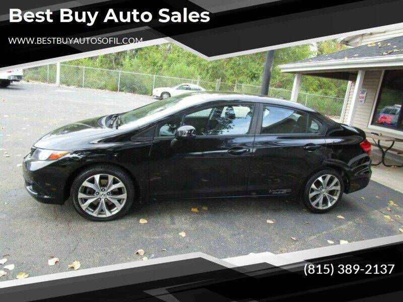 2012 Honda Civic for sale at Best Buy Auto Sales in South Beloit IL