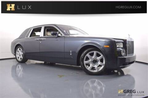 2008 Rolls-Royce Phantom for sale at HGREG LUX EXCLUSIVE MOTORCARS in Pompano Beach FL