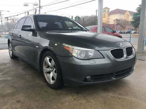 2006 BMW 5 Series for sale at Auto Smart Charlotte in Charlotte NC