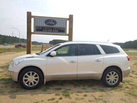 2012 Buick Enclave for sale at Elk Creek Motors LLC in Park Rapids MN