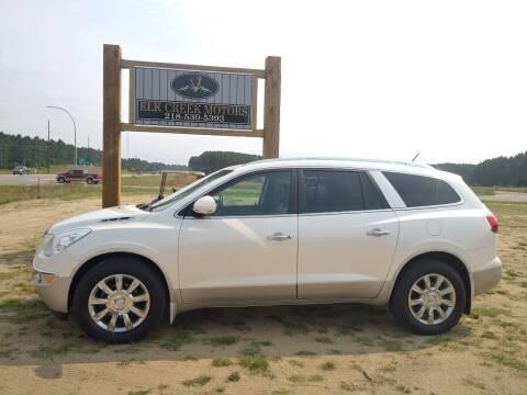 2012 Buick Enclave for sale at Elk Creek Motors LLC in Park Rapids MN