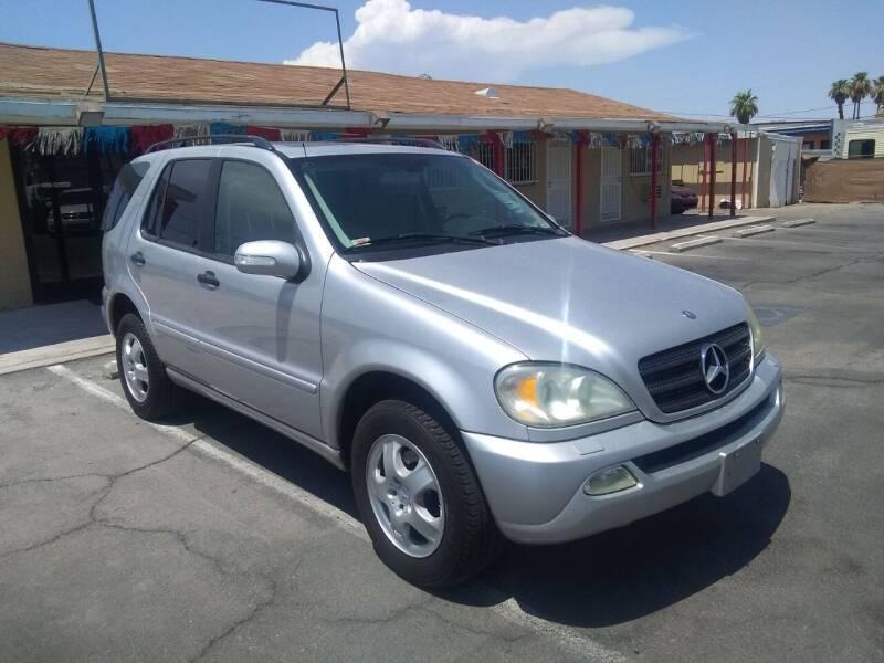 2003 Mercedes-Benz M-Class for sale at Car Spot in Las Vegas NV