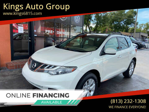 2012 Nissan Murano for sale at Kings Auto Group in Tampa FL